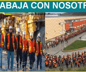 CONVOCATORIA DE TRABAJO PARA MINERA ANTAMINA