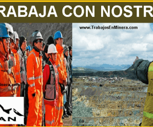 CONVOCATORIA DE TRABAJO PARA Compañía Minera Volcan