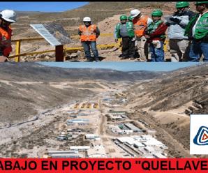 """CONVOCATORIA LABORAL PARA PROYECTO """"QUELLAVECO"""""""