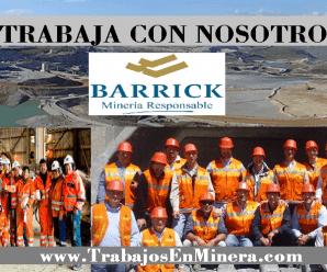 CONVOCATORIA LABORAL PARA MINERA BARRICK MISQUICHILCA S.A
