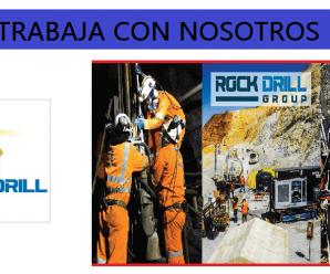 CONVOCATORIA DE TRABAJO PARA Rock Drill Cont. Civ. y Mineros S.A.C.