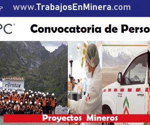 CONVOCATORIA DE TRABAJO PARA APC Corporacion