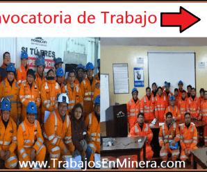 CONVOCATORIA DE TRABAJO Robocon Servicios SAC